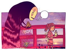 Spirited Away by Dan Hipp