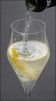 The best of the classic sparkling-wine cocktails, this drink was created during World War I and named for a 75-millimeter French artillery gun, which should suggest that it is not as gentle a drink as it might first appear.