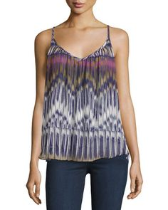 Twirling+Silk+Tank,+Twilight+by+Chloe+Oliver+at+Neiman+Marcus+Last+Call.