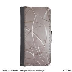 """http://www.zazzle.com/iphone_5_5s_wallet_case-256681953188061793 iPhone 5/5s Wallet Case. Turn your #iphone 5/5s into a work of art with this cool """"stainless steel"""" wallet case! My minimal #designs are focused on simple color compositions & rich textural surfaces to create strikingly unique #products. #cybermondaydeals #CyberMonday"""