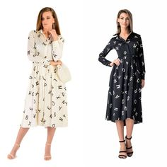 Black or white? White or black? Make your choice 🤩 www. White White, Spring Summer, Dresses With Sleeves, Make It Yourself, Long Sleeve, Shop, How To Make, Black, Instagram