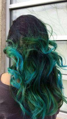 Peacock hair styles