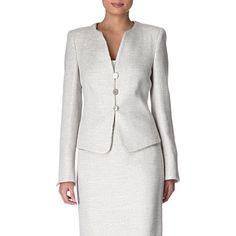 Sparkle tweed jacket - ARMANI COLLEZIONI