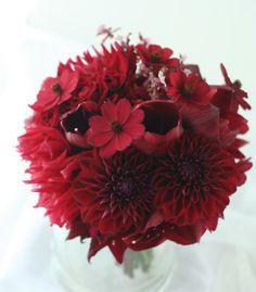 ブーケ クラッチ マホガニー色 : 一会 ウエディングの花