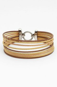 Charriol® 'Modern Cable Mix' 9-Row Bracelet available at #Nordstrom