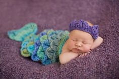 Ready To Ship Newborn Baby Girl Purple by PerfectlySweetItems
