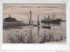 Port de Couëron sur la basse Loire