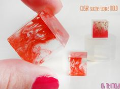 Cube Clear Mold  Mold for  2 cm Resin Cube by OHMYMOLD on Etsy, €12.45