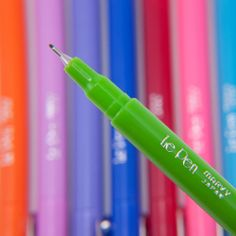 Pens - I love these pens, they are 1.00 each and they write sooo good, like thin little markers.  Awesome pens!!!