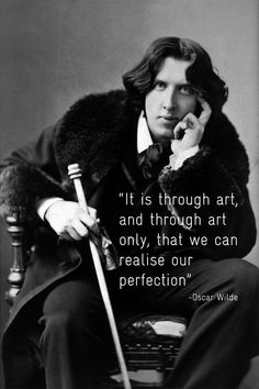 Oscar Wilde was one of London's most popular playwrights in the early 1890s, best known for his novel 'The Picture of Dorian Gray' and the play 'The Importance of Being Earnest', as well as for his infamous arrest and imprisonment. Ever the aesthete, Wilde was profoundly affected by beauty and lived and dressed flamboyantly compared to the typical Victorian styles of his time. http://www.europeana.eu/portal/search.html?query=%22oscar+wilde%22
