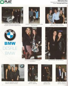 Inchcape Motors: Nota social sobre el desfile BMW Fashion Show en la revista On Top de Perú (30/10/14)