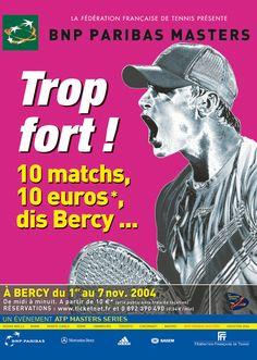 Affiche 2004 BNP Paribas Masters