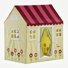Gifts for the Two Year Old Girl: This Cottage Play Home is fun for hours! $189