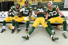 I love my packers!  HaHa and Hayward hold it down!  Hyde- great instinct and tackler, Morgan- why are you still on the team?