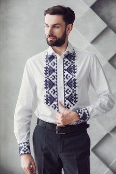 Mode Russe, Blazer Outfits Men, Kurta Men, Ukraine, Mexican Outfit, Resort Dresses, Diy Clothes, Clothes For Women, Shirt Embroidery