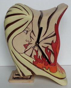 Resultado de imagen para relojes en ceramica pinterest