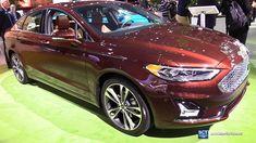 2019 Ford Fusion Titanium - Exterior and Interior Walkaround - Debut 201...