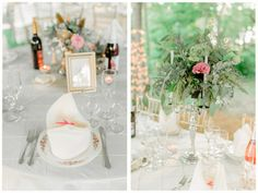 Vintage china table settings for every guest. Secret Garden themed real Michigan wedding.  Image by Pasha Belman // www.pashabelman.com