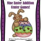 Fern Smith's 79 Paged Easter / Spring Themed Addition Center Games  ~Addition Facts with Zero ~Addition Doubles ~Addition Doubles Plus One ~Additio...