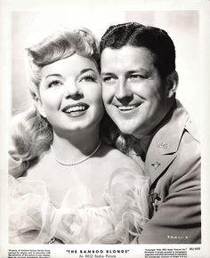 Frances Langford and Russell Wade in The Bamboo Blonde (1946)