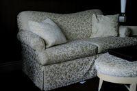 How to Make DIY No Sew Sofa Slip Covers   eHow