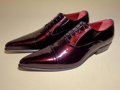 HELMUT Trendy - #scarpe #feshion  realizzate in vitello e vernice  micalizzata