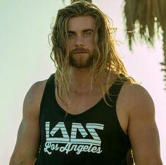 I seriously love this man. Brock Ohurn, Viking Men, Ginger Men, Men Are Men, Hot Hunks, Good Looking Men, Muscle Men, Male Beauty, Bearded Men