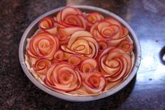Apple Rose Tart - 5 Ingredients.... 6 if you count a little elbow grease ;)