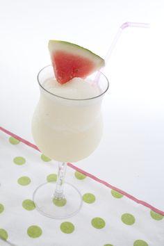 Lemon Calypso Cocktail {Lemon Sorbet, Vodka, Malibu, Pineapple Juice, & Lemonade}