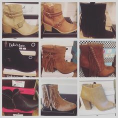 ALL BOOTIES-$24.99 Saturday & Sunday- These styles and more in Madison's Closet are on Sale!  #madisonsbluebrick #downtownhotsprings #booties #sale #shoeenvy