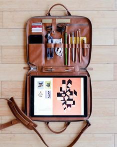 Leather crafters This is Ground have released the latest version of their popular Mod Laptop case. The Mod Laptop 3 is the perfect mobile office, a beautifully crafted and functional case built to solve the needs of creative professionals.