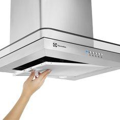 COIFA 60CM DE PAREDE INOX (60CV)   Coifa na Electrolux - Electrolux                                                                                                                                                                                 Mais