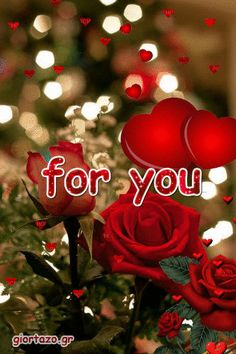 Love Animated Cards Gif For You giortazo Flowers Gif, Beautiful Rose Flowers, Flowers For You, Beautiful Gif, Good Morning Love Gif, Good Morning Roses, Good Night Gif, I Love You Pictures, Love You Gif