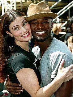 Taye and Idina Diggs