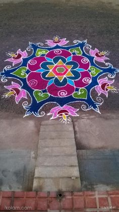 Simple Rangoli Border Designs, Indian Rangoli Designs, Rangoli Designs Latest, Rangoli Designs Flower, Free Hand Rangoli Design, Rangoli Patterns, Small Rangoli Design, Rangoli Ideas, Rangoli Designs With Dots