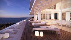 Уникальный дом с панорамным видом на Средиземное море и национальный парк