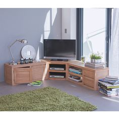 meuble tv d 39 angle kolorcaz 3 suisses meuble tv pinterest salons. Black Bedroom Furniture Sets. Home Design Ideas