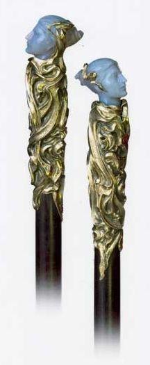 Antique Art Nouveau Walking Stick | JV