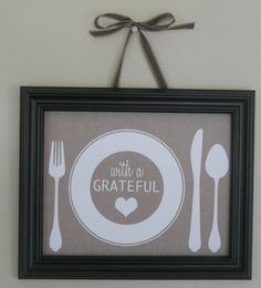 DIY Wall Art plus free printables from I Share Printables.