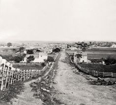 gettysburg pictures | Gettysburg, Pennsylvania, circa 1870, view from the west | House ...