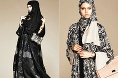Dolce und Gabbana Einführung Erste Hijab