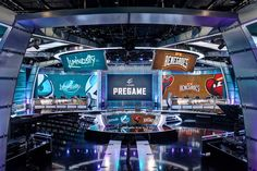 Studio that debuted with the ELeague on May 24, 2016. Located at Turner Sports campusin ... Read More