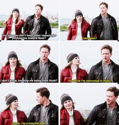 Emma and Charming moment