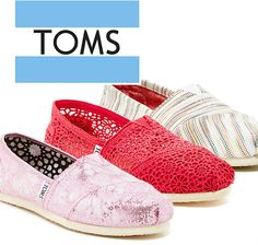 Up to 75% Off TOMS Sale