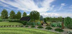 Projekt Ogrodu rezydencjonalnego- patio