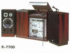 "Hi-Fi ""Woodwork"" -  TRIO K-7700 (1979)"