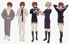 Shinano Toushirou and Gotou Toushirou Boy Drawing, Touken Ranbu, Fan Art, Artist, Anime, Character Design, Twitter, Inspiration, Clothing