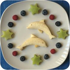 Banana-dolphins and kiwi-stars