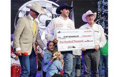 Kurt Bensmiller wins first Calgary Stampede Rangeland Derby title
