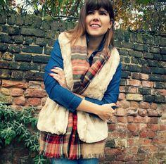 House of Pinheiro: Winter lumberjack: named tala faux fur vest